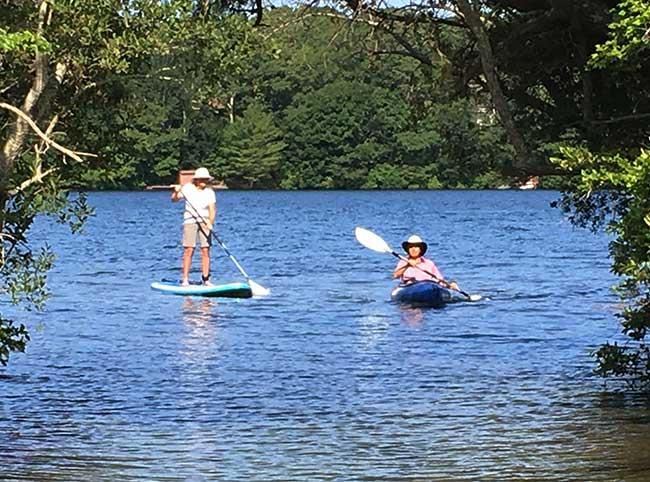 SUP & Kayak Guided Tour