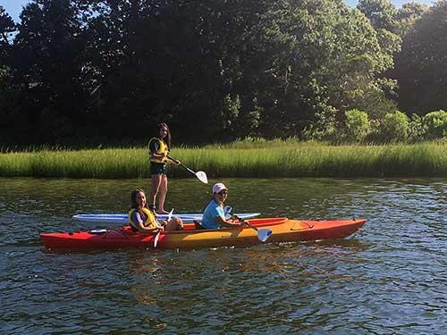 kayak SUP group