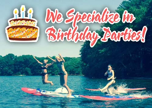 We Specialize in Birthday Parties!